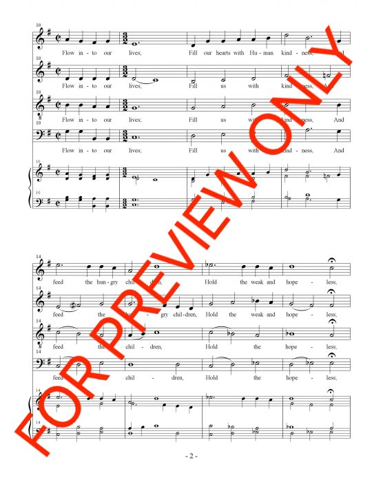 instant download choral music, satb