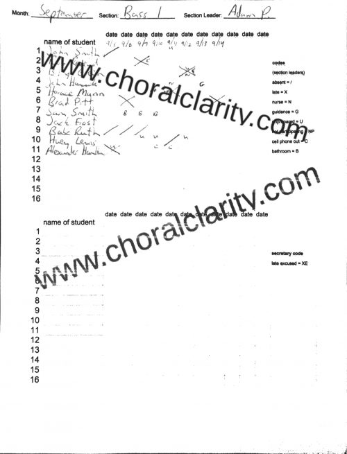 watermarked Section Leader Mock Form 1