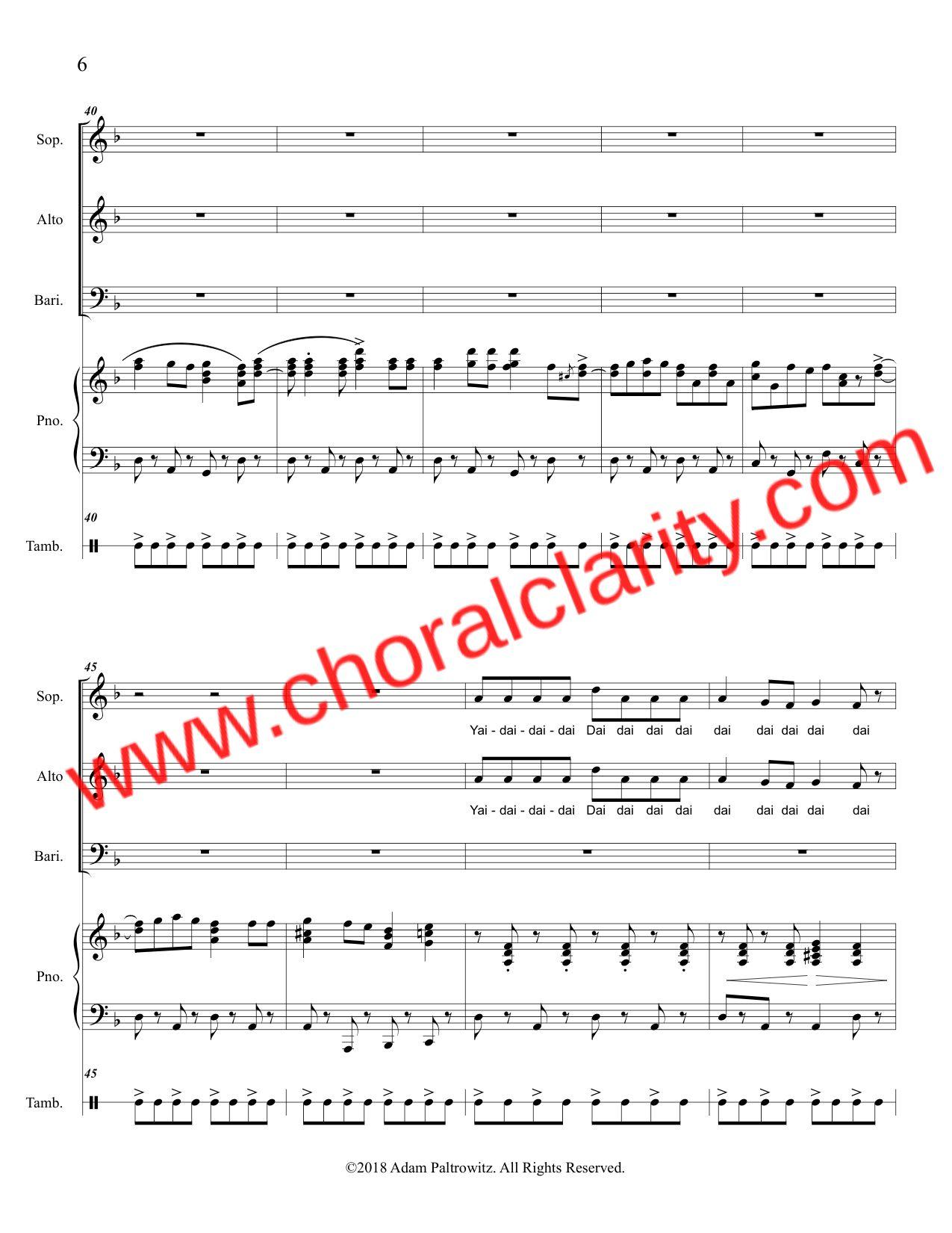 Choral Clarity WatermarkOh Hanukkah SAB-6